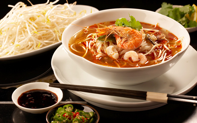 Asian food for Asian cuisine restaurant